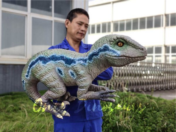 Custom-Raptor-Hand-Puppet-for-Party8
