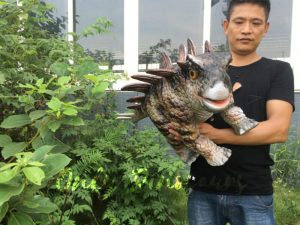 Living Stegosaurus Puppet for Stage Show