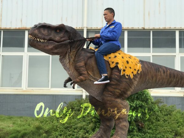 T-Rex-Riding-Dinosaur-Costume-on-Stilts5