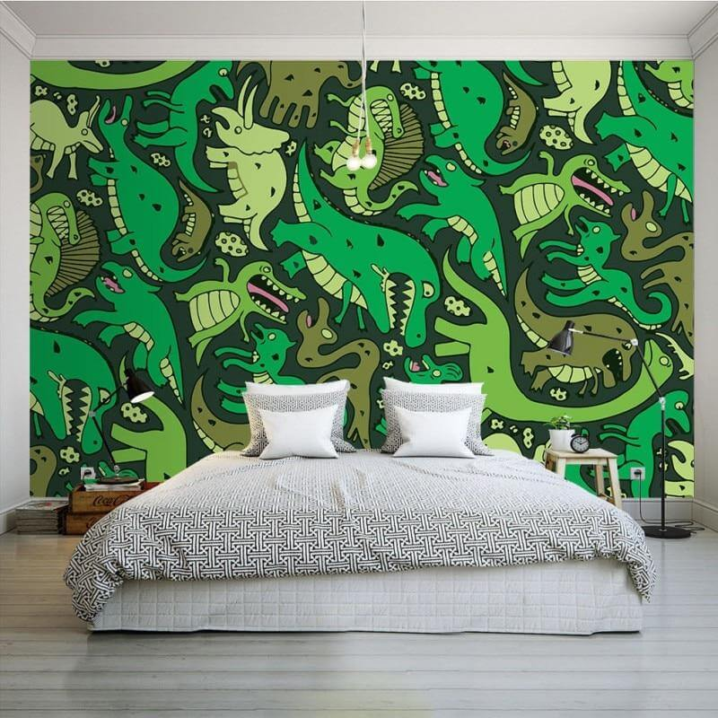 3d-Jurassic-Central-Wallpaper-Mural1