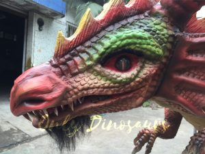 Bepoke Red Dragon Costume