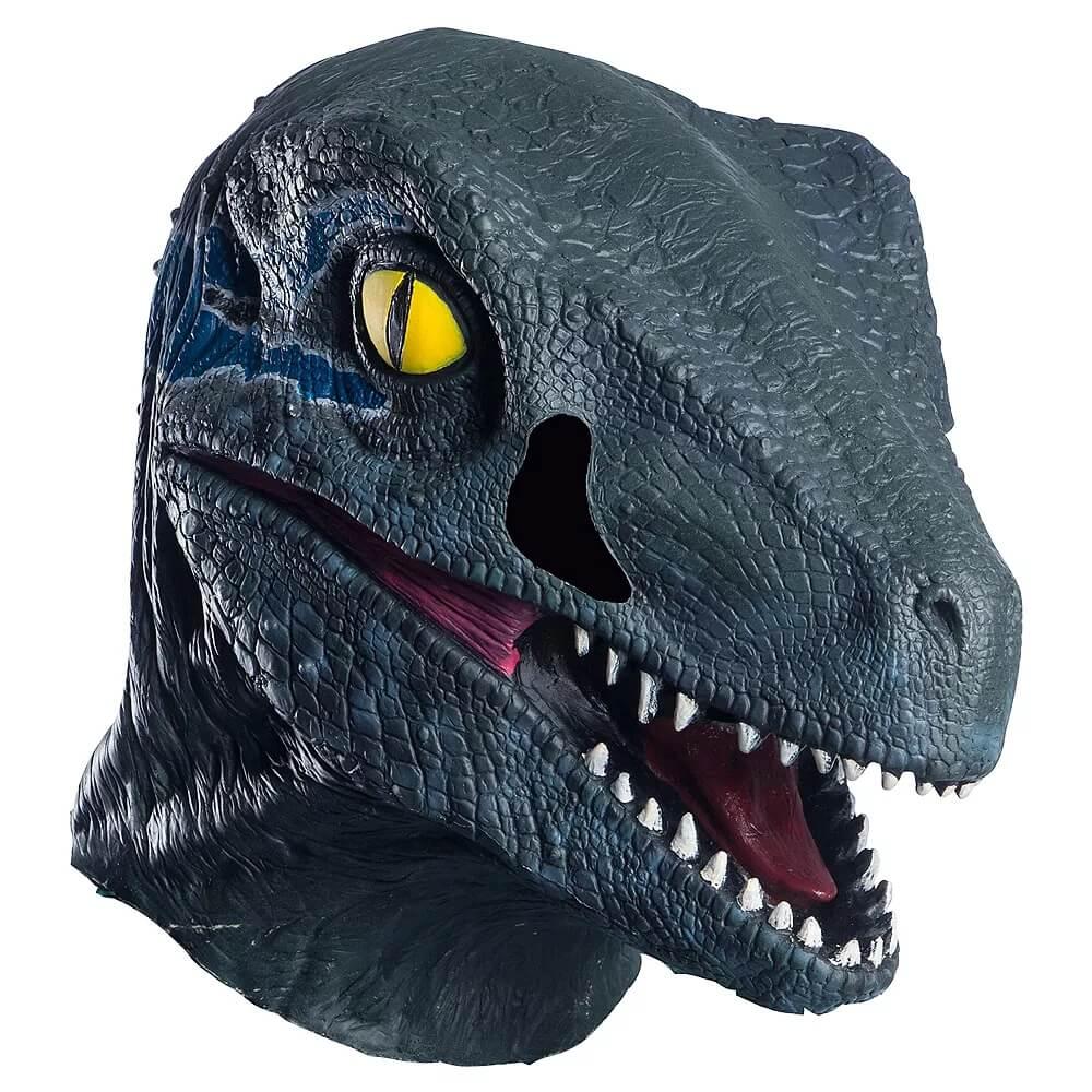 Blue-Velociraptor-Mask