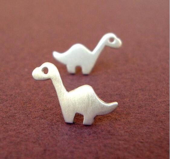 Brontosaurus-Dinosaur-Stud-Earrings1