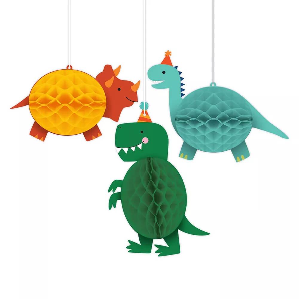 Dino-Mite-Dinosaur-Honeycomb-Decorations-3ct