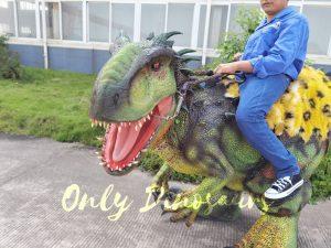 Dino Rider Indominus Rex Dinosaur Costume