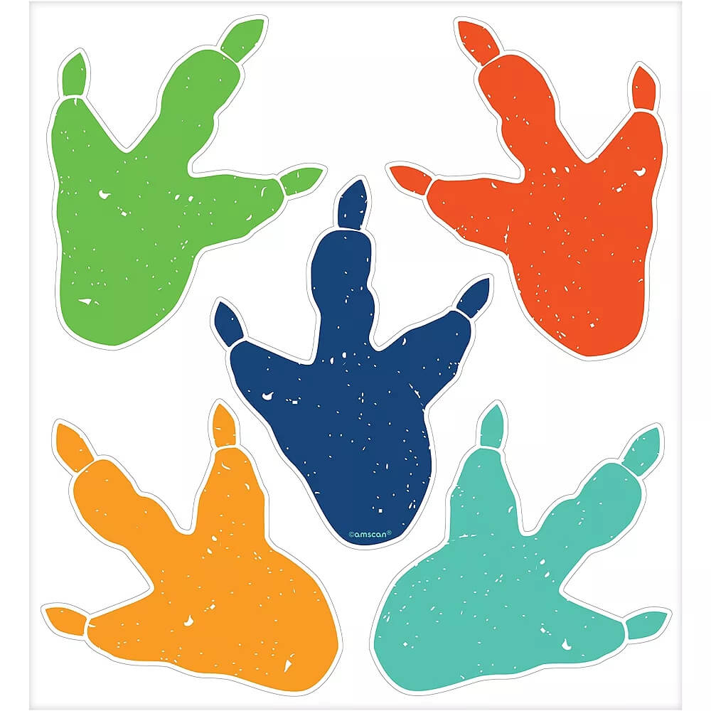 Dinosaur-Footprint-Cling-Decals-10ct