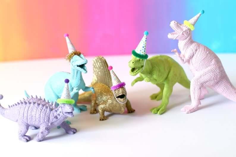 Dinosaur-Party-Mini-Hats