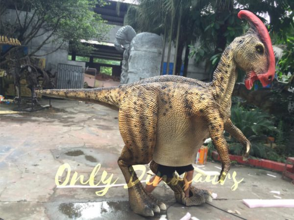 Impressive-Walking-Parasaurolophus-Costume4