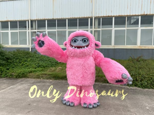 Pink-Realistic-Abominable-Snowman-Yeti-Costume3