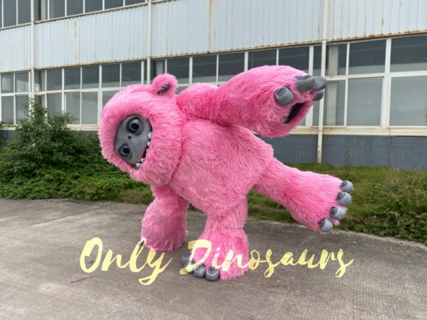 Pink-Realistic-Abominable-Snowman-Yeti-Costume4