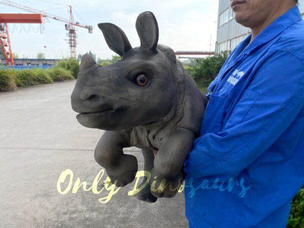 Realistic-Rhinoceros-Handheld-Puppet5