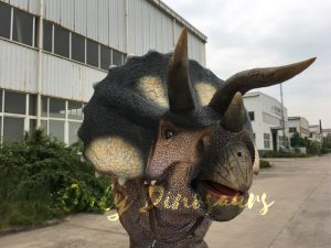 Realistic Triceratops Costume for Couple Actors