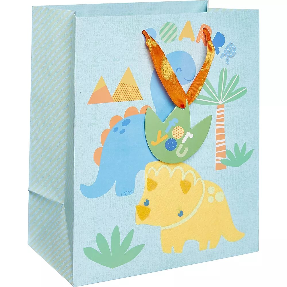 Small-Glossy-Friendly-Dinosaurs-Gift-Bag