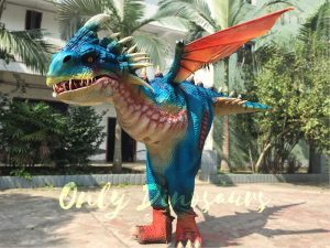 Stormfly Deadly Nadder Walking Dragon Costume