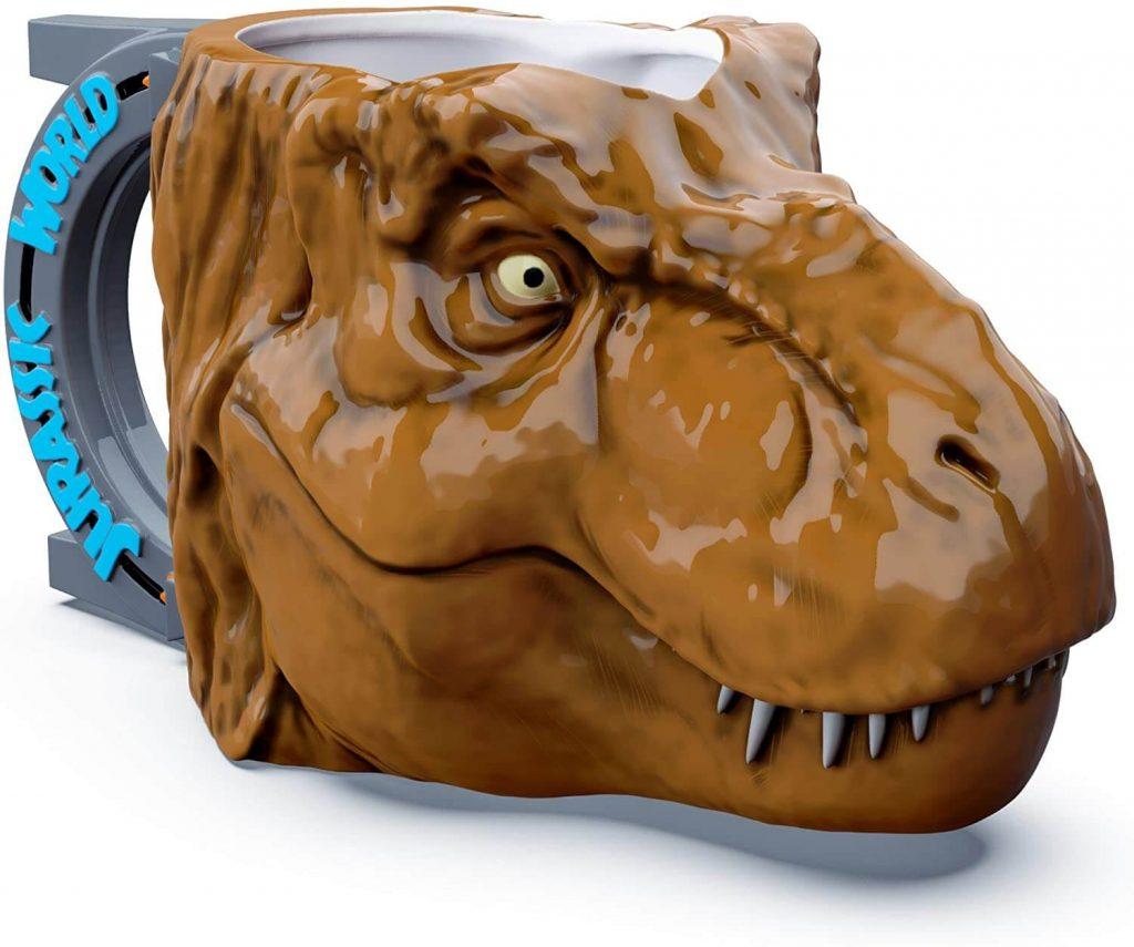 T-Rex-Dinosaur-Unique-3D-Character-Sculpted-Ceramic-Coffee-Mug