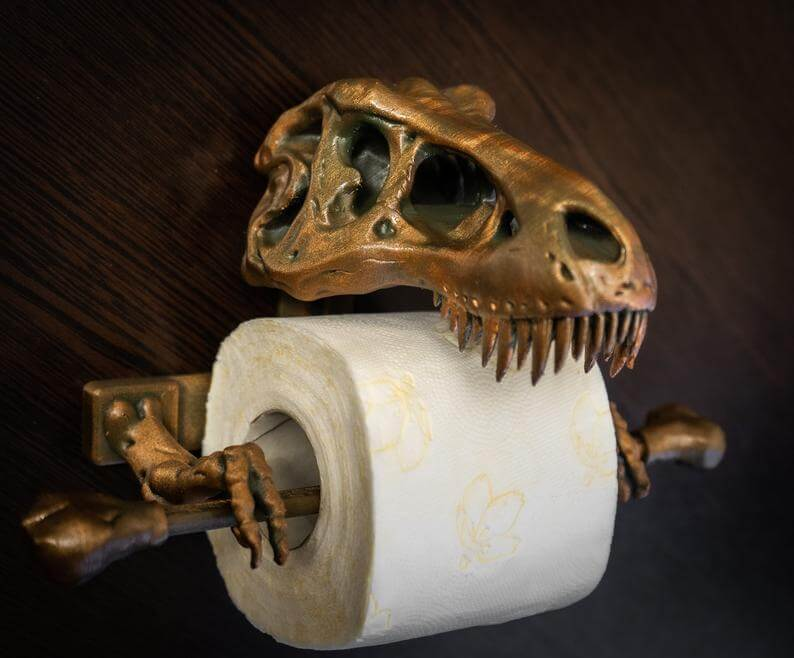 T-Rex-Toilet-Paper-Holder-3D-Printed-Bathroom-accessories