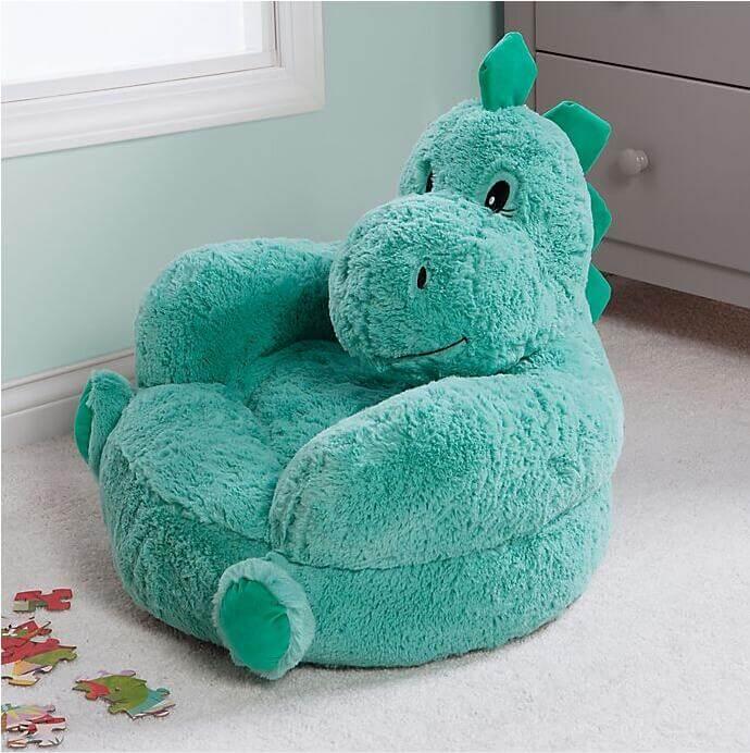 Trend-Lab®-Plush-Dinosaur-Chair-in-Teal
