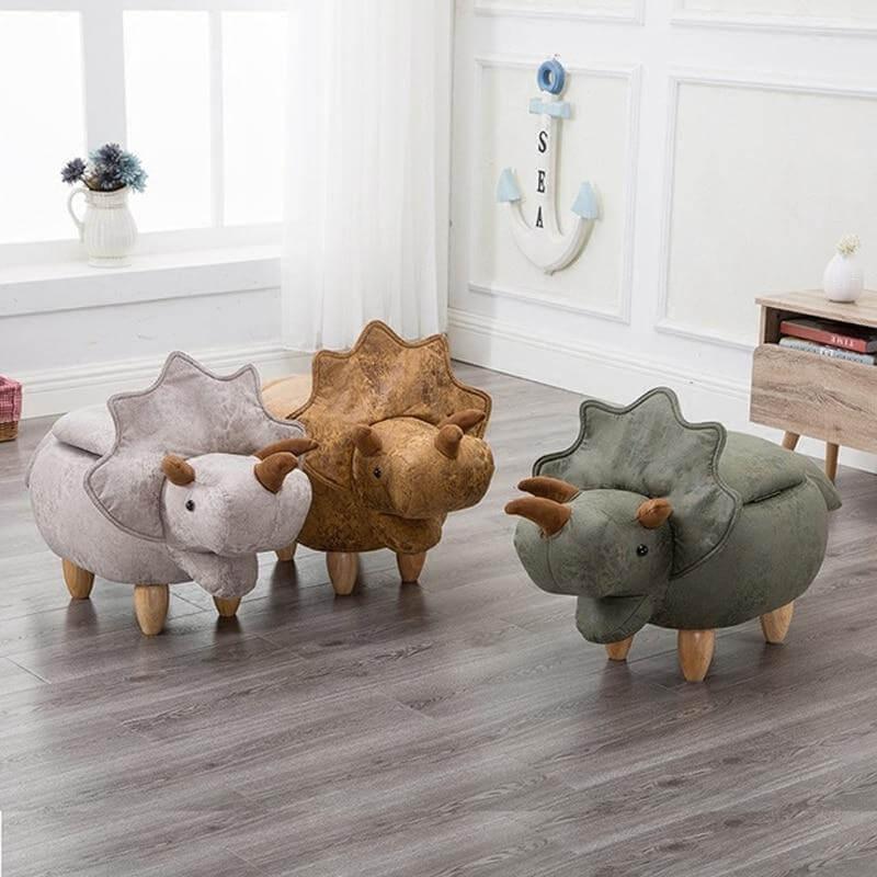 Triceratops-Vegan-Leather-Foot-Stool1
