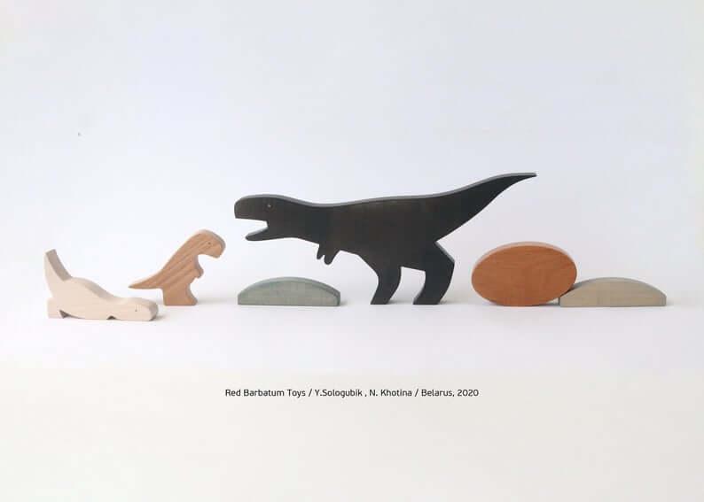 Wooden-Dinosaur-Set-T-Rex-Toy-wooden-toys