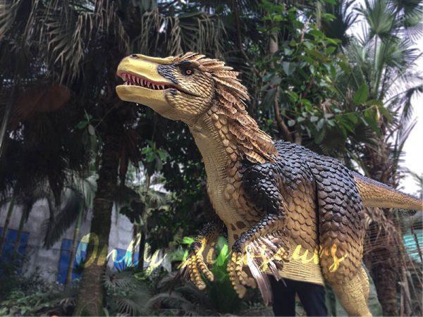 Yellow-Feathered-Velociraptor-Costume3
