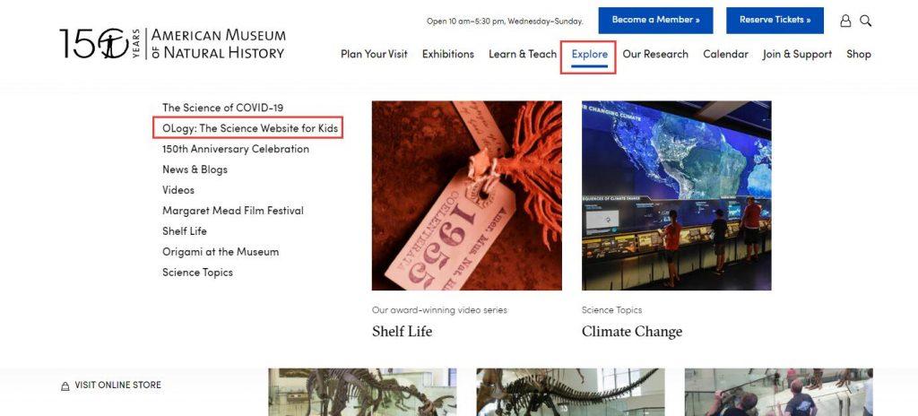 Authoritative Dinosaur Knowledge Websites american-museum-pic3