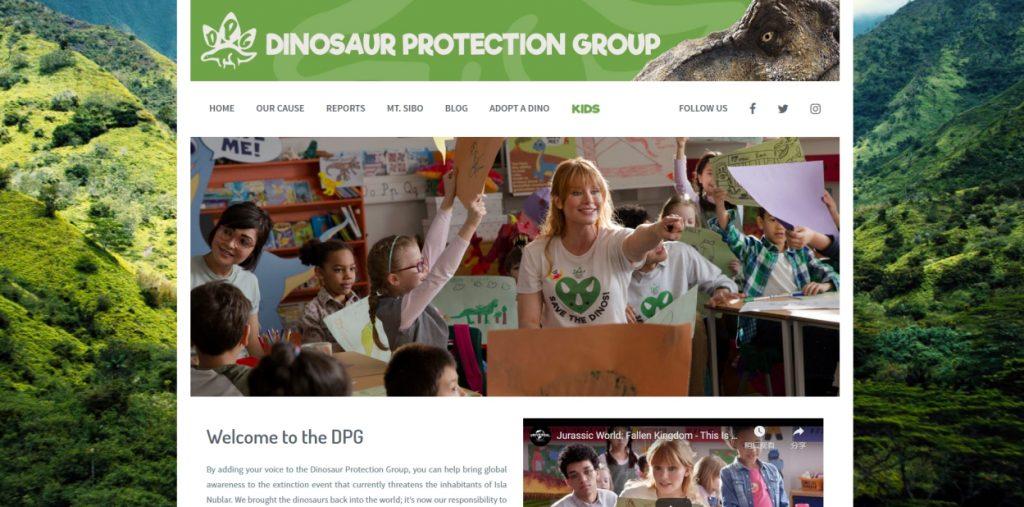 Authoritative Dinosaur Knowledge Websites dinosaur-protection-group-pic1
