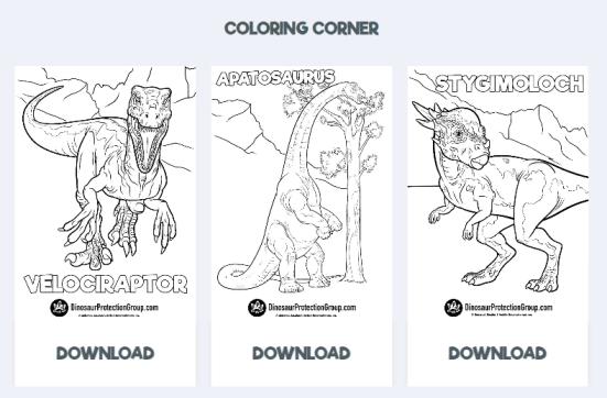 Authoritative Dinosaur Knowledge Websites dinosaur-protection-group-pic2