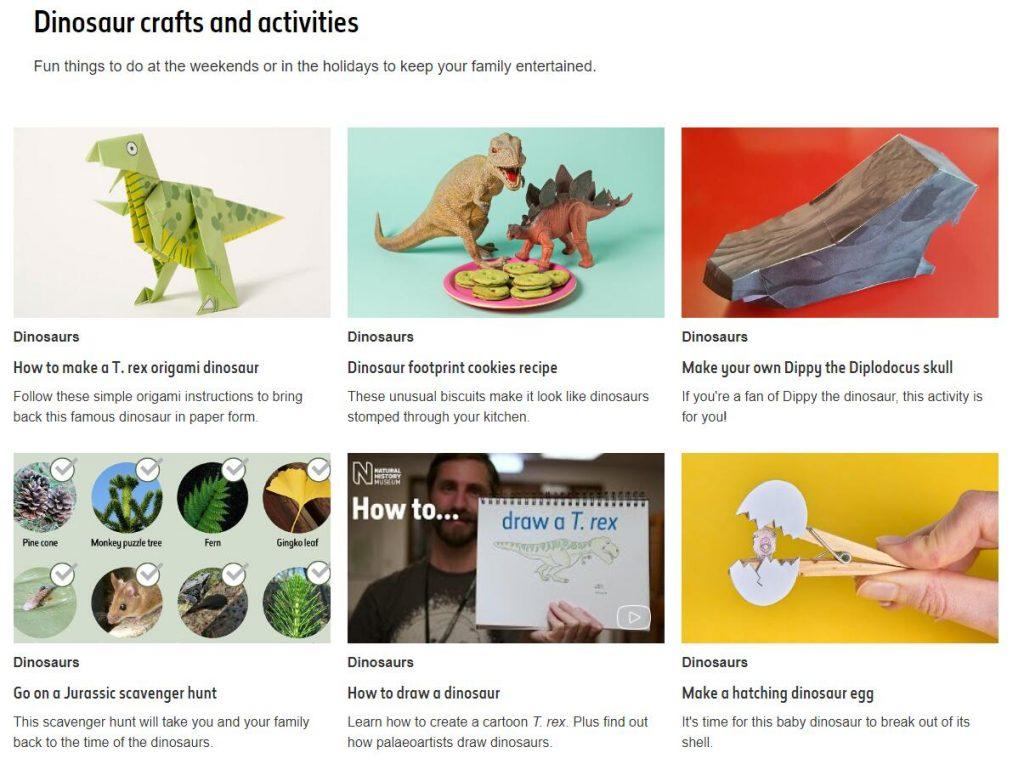 Authoritative Dinosaur Knowledge Websites natural-history-museum-pic2