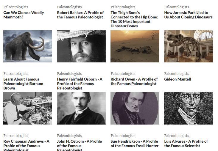 Authoritative Dinosaur Knowledge Websites thoughtco-pic2