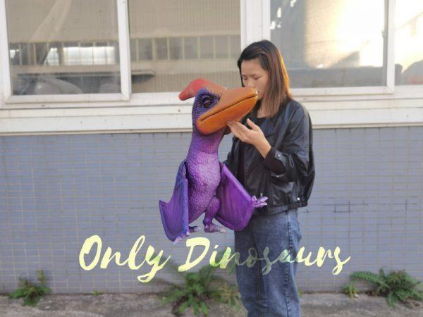 Charming-Purple-Pterodactyl-handheld-puppet2