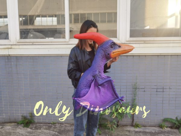 Charming-Purple-Pterodactyl-handheld-puppet3