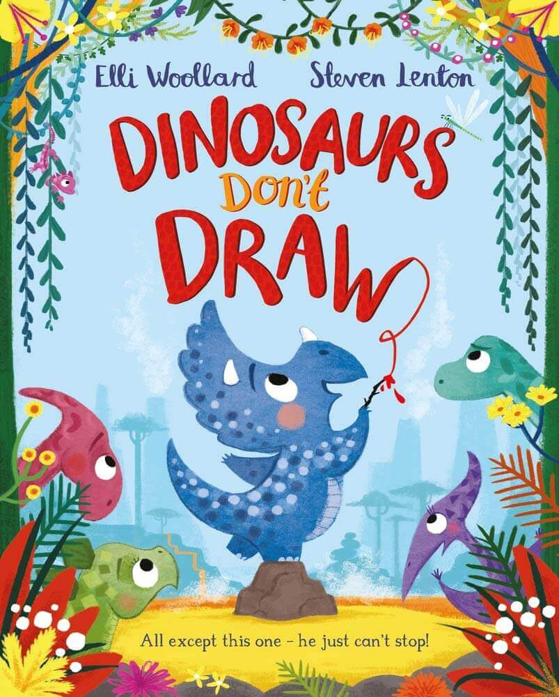 Dinosaurs-Dont-Draw-by-Elli-Woollard
