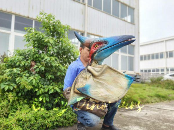 Lifelike-Blue-Handheld-Baby-Pterosaur1
