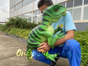 Vivid Masiakasaurus Dinosaur Hand Puppet