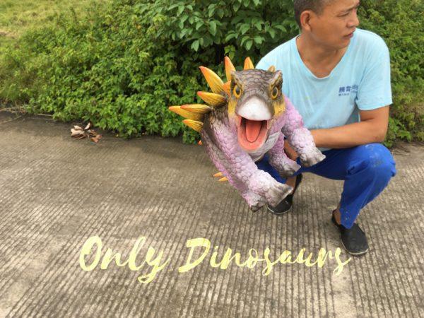 Cute-Mini-Stegosaurus-Puppet-for-Educational-Workshop7
