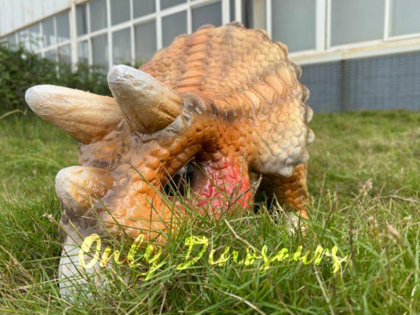 Lifelike-Orange-Triceratops-Baby-Dino-Puppet1