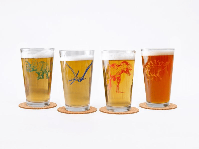 coolest-dinosaur-gifts-for-adults-this-Christmas-dino-glass-beer-set