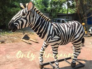 Lifelike Zebra Model for Sale