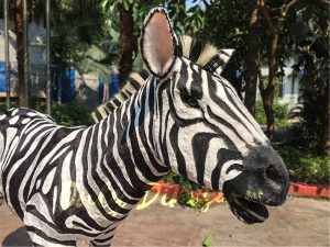 Lifelike Zebra Model for Sale