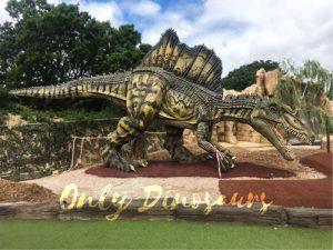 15 Meters Long Lifesize Animatronic Spinosaurus