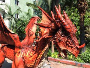 Vivid Mysterious Dragon for Park