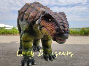 Vivid Single-man Ankylosaurus Costume for Actor