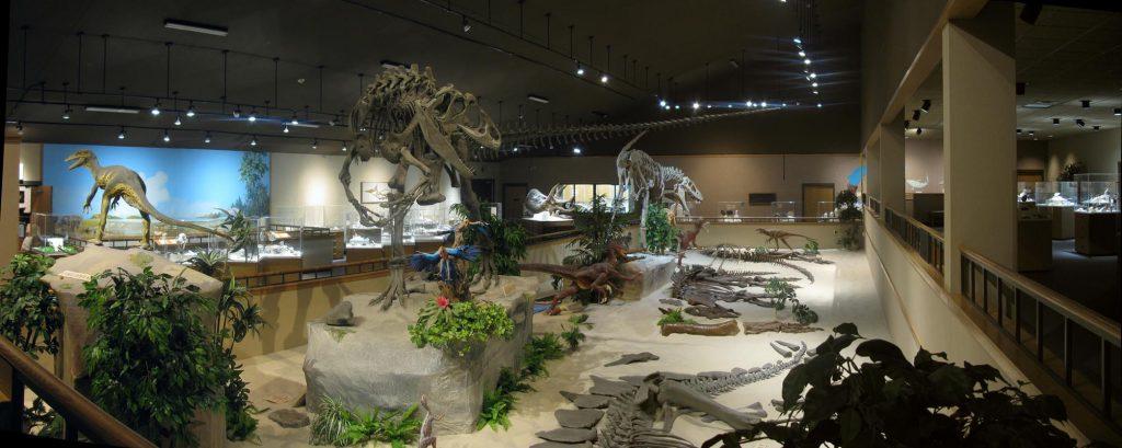 11-16-Best-Dinosaur-Exhibits-in-America-2021Badlands_Dinosaur_Museum_hall_-1