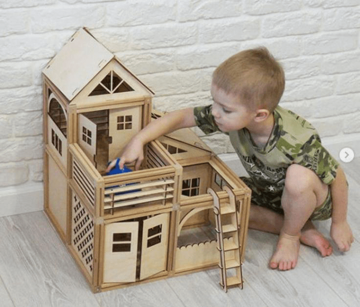 20-Best-Toys-for-Kids-in-2021-Magnetic-Dollhouse-Building-Set