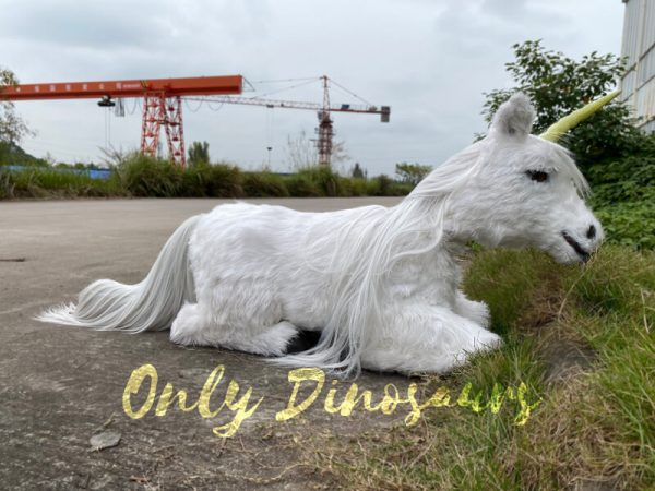 Adorable-White-Baby-Unicorn-with-Soft-Fur-1
