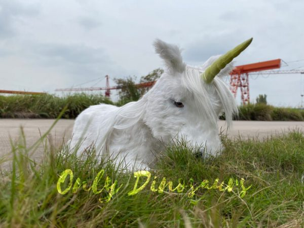 Adorable-White-Baby-Unicorn-with-Soft-Fur-3