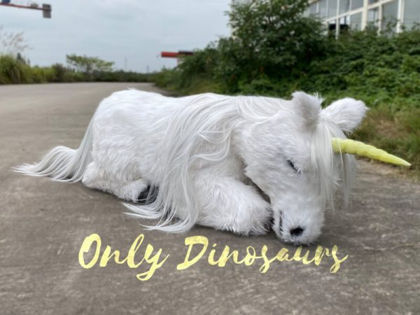Adorable-White-Baby-Unicorn-with-Soft-Fur-6