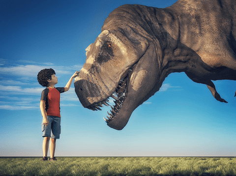 Dinosaur-facts-for-kids-Humans-are-way-more-intelligent-than-dinosaurs