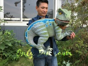 Realistic Raptor Hand Puppet with Beautiful Eyes