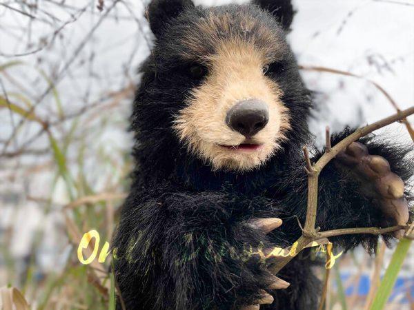 Adorable-Handheld-Baby-Black-Bear-Puppet1